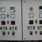 Pumpensteuerung - Frontansicht