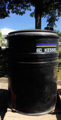 """Fettabscheider Kessel """"mobil"""" Typ 0,5 – Restposten"""