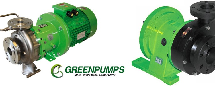 Greenpumps/ Caster Pumpen